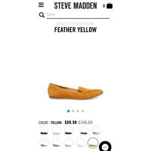 Feather Mustard Flats - Steve Madden New